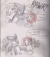 Werehog meets Amy by ThePandamis