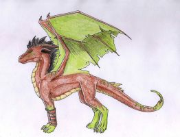 Request - Dragon design by Navarose