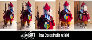 Commission: Freya Crescent Plushie by SinLei