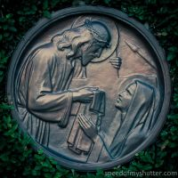 VI Veronica wipes the face of Jesus by speedofmyshutter