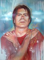 Stephen King by luciole