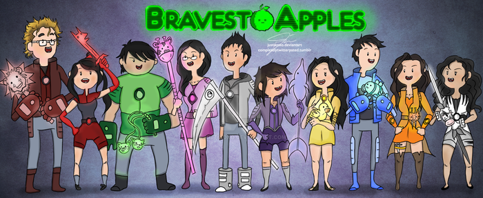 We're the Bravest Apples! by justixoxo