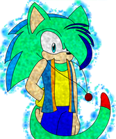 Spark Speed the Hedgecat in color by SonicUS1000