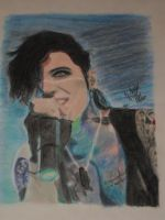 Andy Biersack nr 46 color by xxdaswarwohlnix