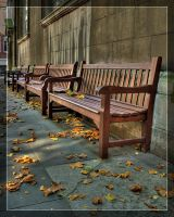 St Brides Benches HDR by Hacky-Sack
