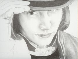 Half Finished Wonka by AuralayKristine