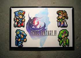 Perler Final Fantasy IV by Dlugo1975