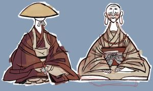 Some monks by otherwise