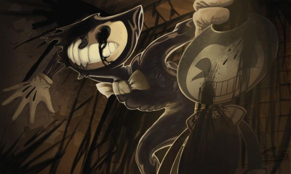 Bendy and the Ink machine by Genext820