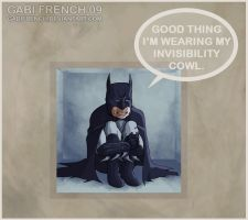 Crouching Tiger, Hidden Batman by GabiFrench