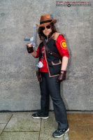 24th May MCM LON Team Fortress RED Sniper 3 by TPJerematic