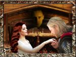 The legend of Loki and Sigyn - 2 by turlena08