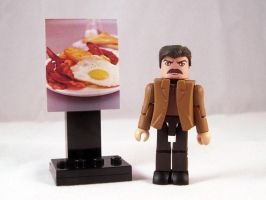 Ron Swanson Custom Minimate by luke314pi