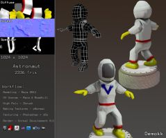 Astronaut Model by Demokk