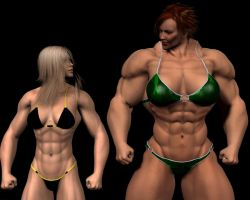 My She-Freak v Daz she-freak by spiresrich