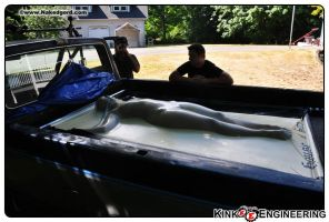 Vacbed in House of Gord Truck by Kinkengineering