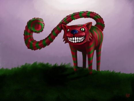 Cheshire Cat by furk