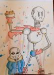 The Bone Brothers  by QueenOfSkulls