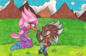 :SSAT: Terry and his Mum by Sonicemma