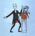 Into the Dalek doodle by sn0otchie