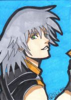 Riku ACEO card by LadyNin-Chan