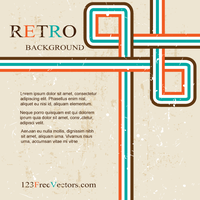 Vector Abstract Grunge Retro Design Background by 123freevectors