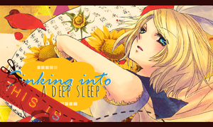 Sinking into a deep sleep ~ by debbiichan