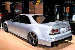 Nissan Skyline R33 GTS by MurilloDesign