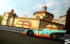 Porsche 917 at Montjuic 6 by ZowLe