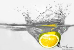 Orange Splash by AliDesigner