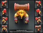Dota 2 Earthshaker figurine - Action Figure by LuisMonterieArt