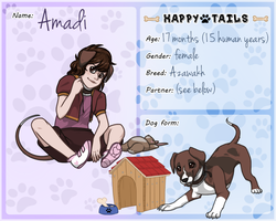 Happy Tails: Amadi by IridescentMirage