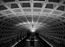 Alone in the DC Metro by lowjacker