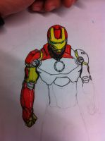 Iron man Quick sketch part 3 by dragonite838