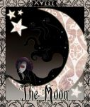 The Moon Tarot Card by xwocketx