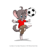 Lil' Lax playing soccer by MarwanGreenCritter