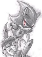 Metal Sonic by GRR2530