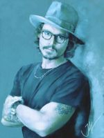 JOHNNY DEPP by JALpix