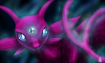 Speedpaint: Espeon by mfm50
