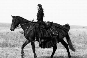 lady and horse 7 by AngieStock