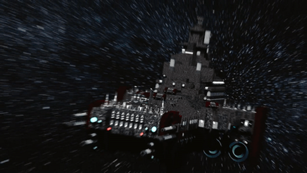 Warhammer 40k - Battle Barge - preview GIF by taumich