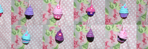 Cupcake Charms by northy1982