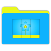 Wallpaper Icon Folder by janosch500