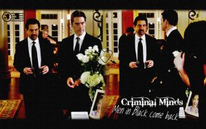Men in black Rossi Hotch by Anthony258