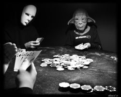 Poker Night by kazfolio