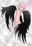 Pink and Black angel by XxSNiPERKiDxX