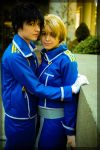 Roy and Riza by twinfools