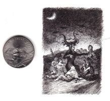 Tiny Goya Drawing. by urielstempest