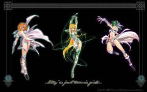 Saint Seiya: Cosmic Girls by moonlitwhispers
