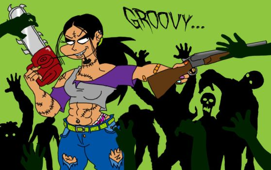 Candy vs The Army of Darkness by SpiketheKlown